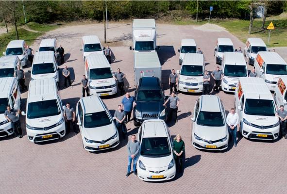 About hoovos - wagenpark met personeel